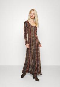 M Missoni - LONG DRESS - Jumper dress - carob - 1