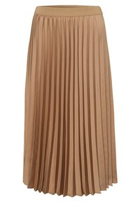 More & More - A-line skirt - camel - 1