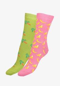 Libertad - 2 pack - Socks - pink - 1