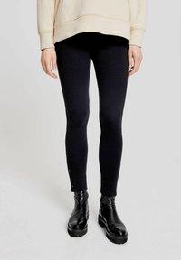 Opus - Leggings - Trousers - schwarz - 0