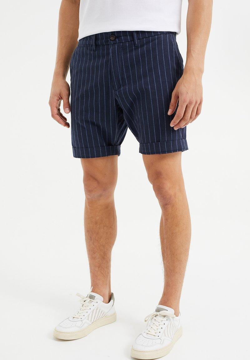WE Fashion - Shorts - dark blue