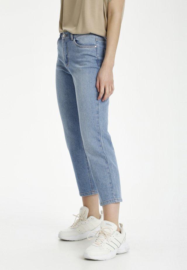 GESA - Jeans a sigaretta - light blue washed denim