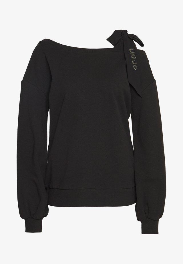 FELPA CHIUSA - Sweatshirt - black
