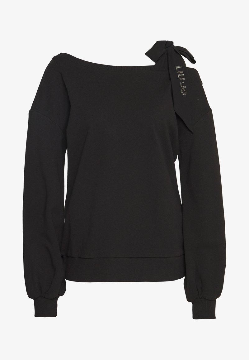Liu Jo Jeans - FELPA CHIUSA - Sweatshirt - black