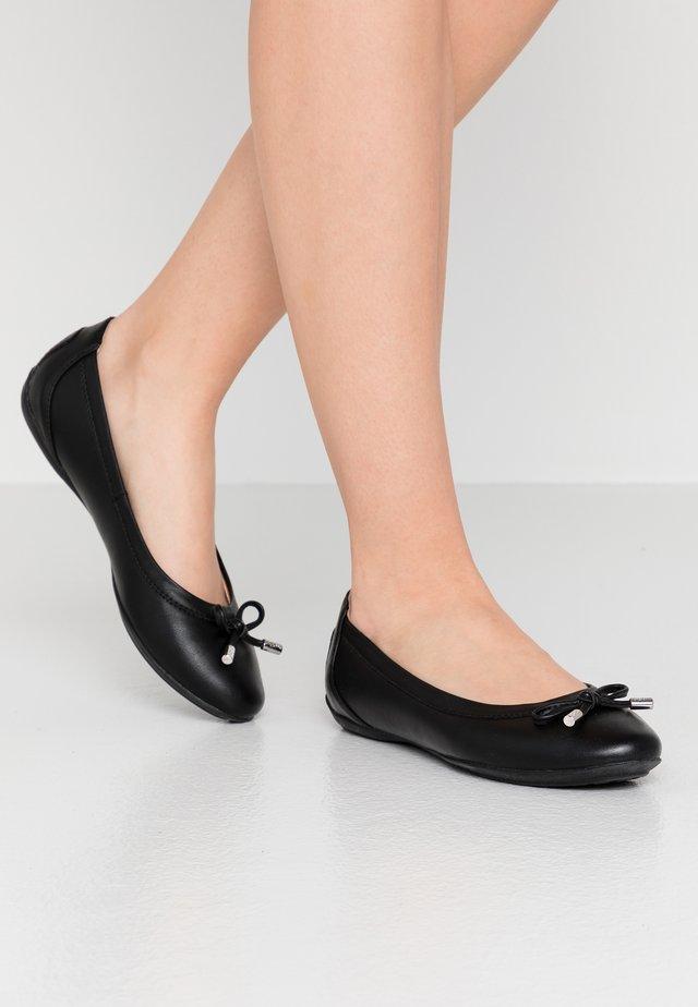 CHARLENE - Bailarinas - black