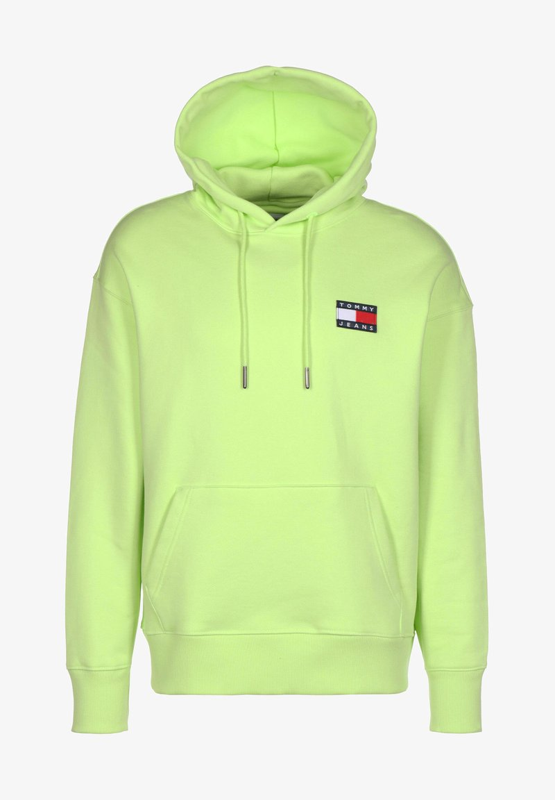 Tommy Jeans - Sweat à capuche - faded lime