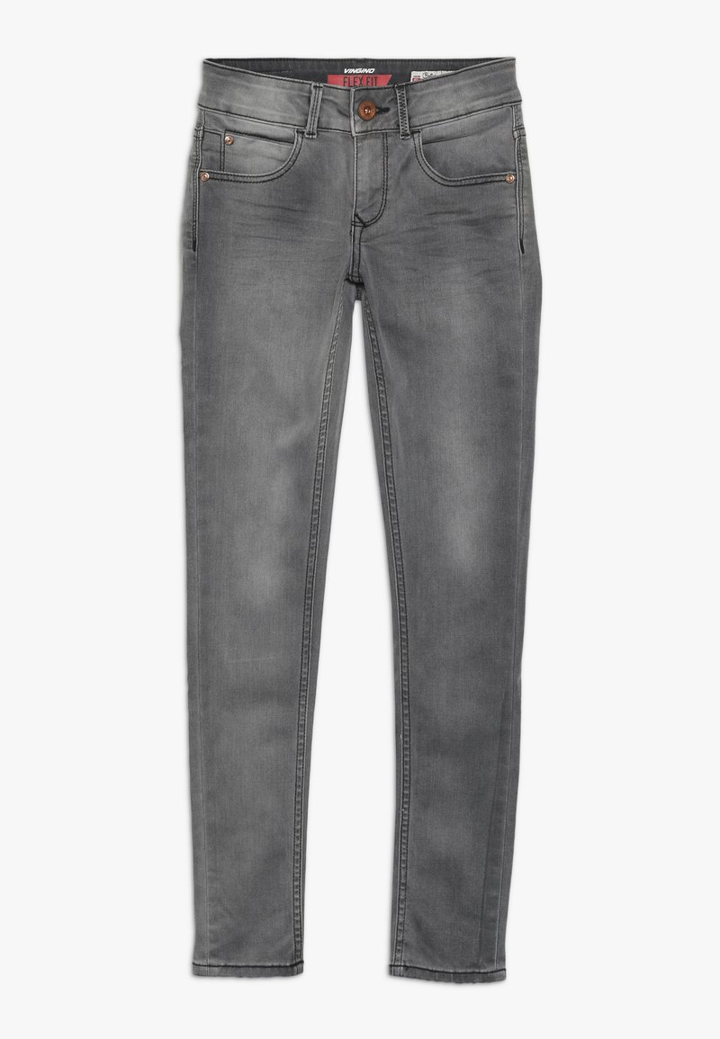Vingino - BETTINE - Jeans Skinny Fit - dark grey vintage
