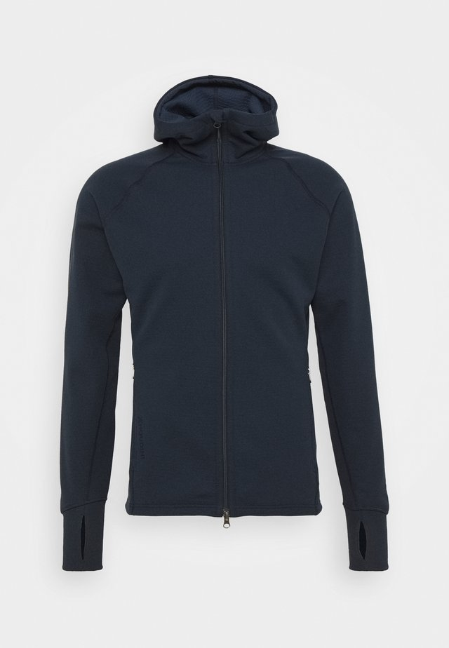 MONO AIR HOUDI - Zip-up hoodie - blue illusion