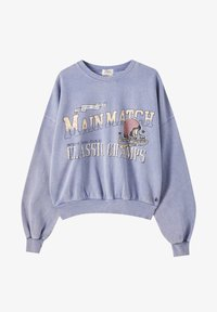 PULL&BEAR - Sweatshirts - mottled blue - 4
