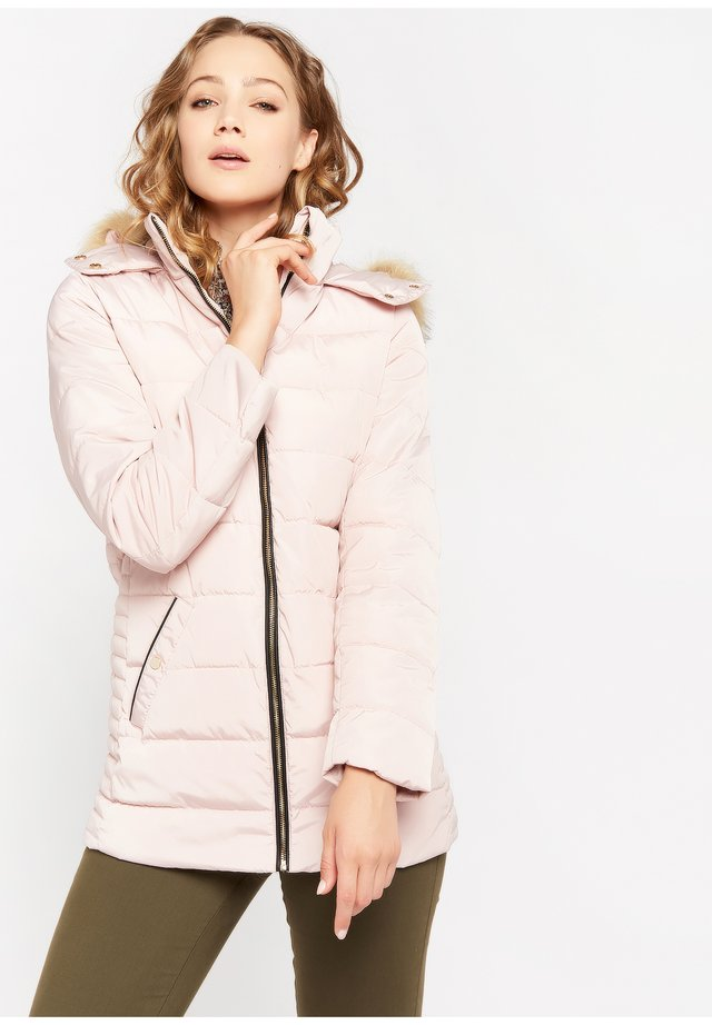 Cappotto invernale - nude pink