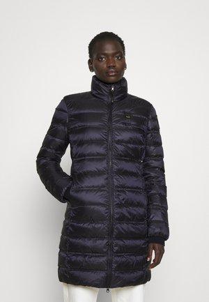 BASIC JACKET LONG STANDING NECK COLLAR - Short coat - navy