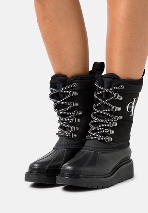 PLUS MID LACEUP  - Winter boots - black