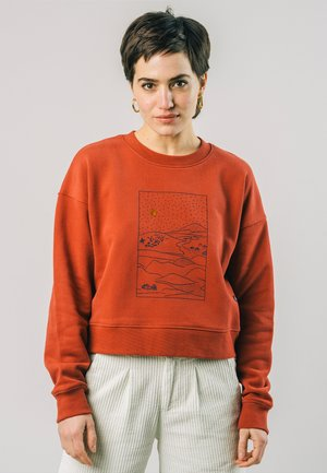 GOBI - Långärmad tröja - orange
