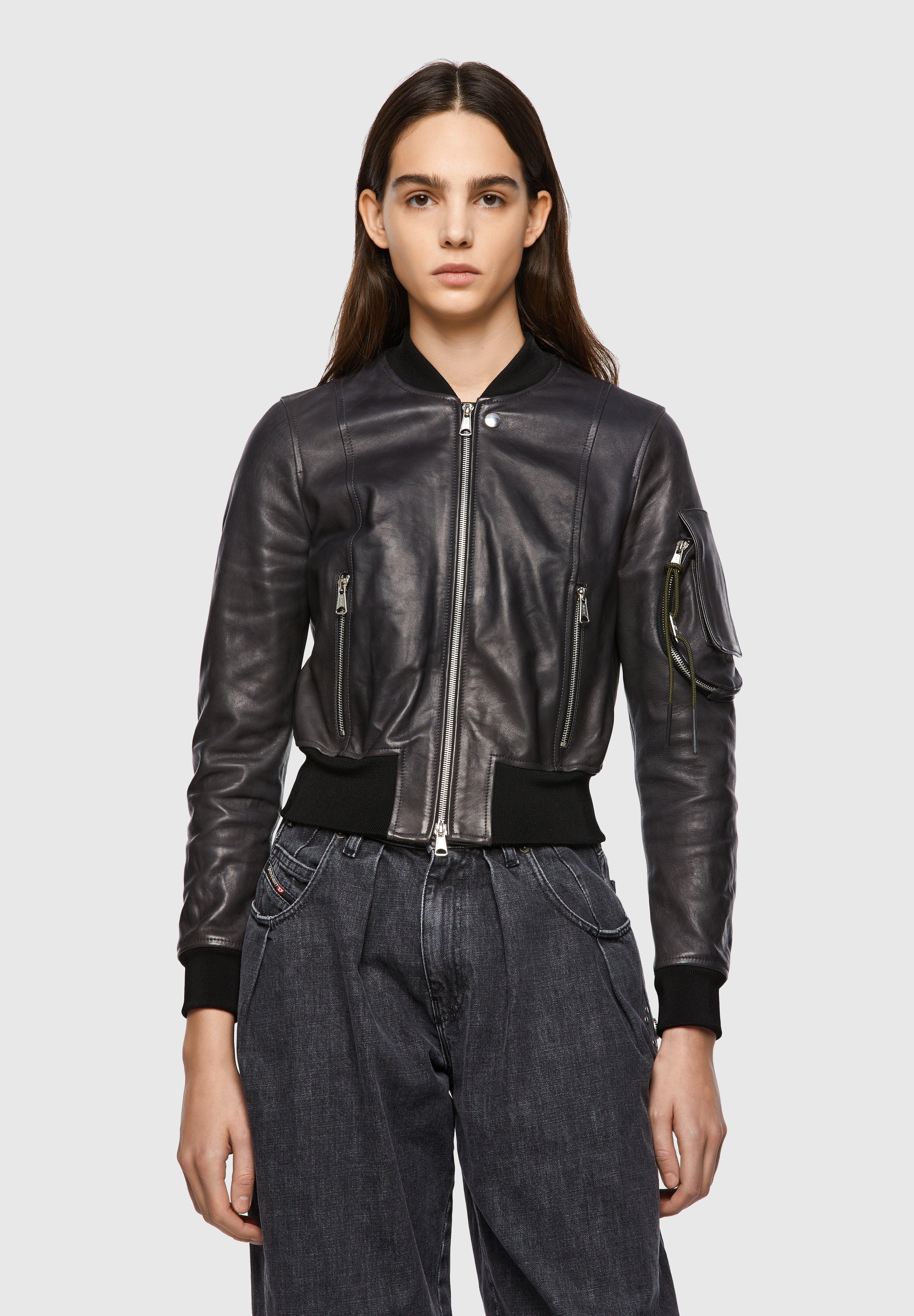 Femme L-ELIA - Veste en cuir