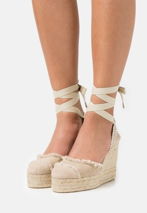 CATALINA  - Platform sandals - sand