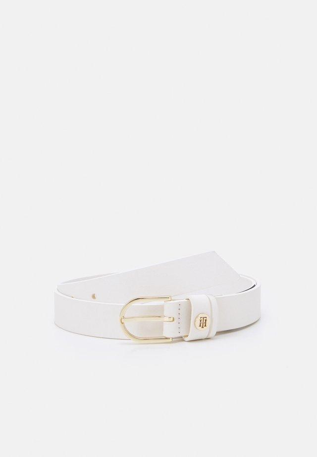 CLASSIC BELT - Cintura - white
