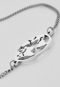 Heideman - WELTKUGEL GLOBUS - Bracelet - silver-coloured - 3