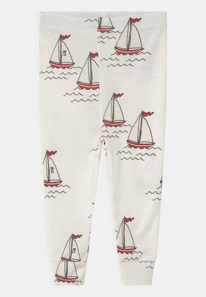 SAILING BOATS UNISEX - Leggings - Trousers - white