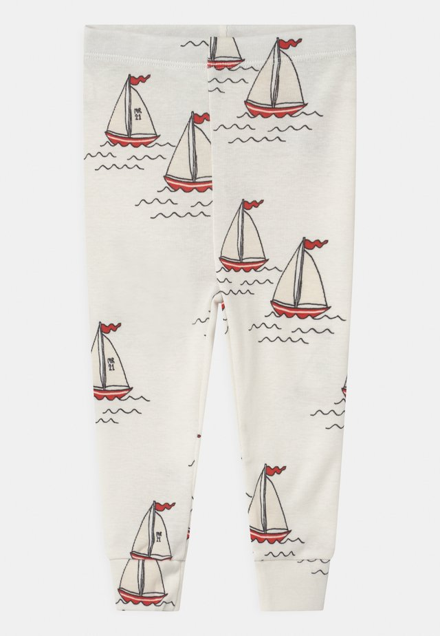 SAILING BOATS UNISEX - Leggings - Hosen - white
