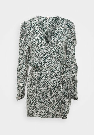 KINSLEY WRAP DRESS - Robe d'été - pine needle