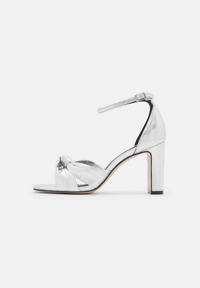 Sandales - argent