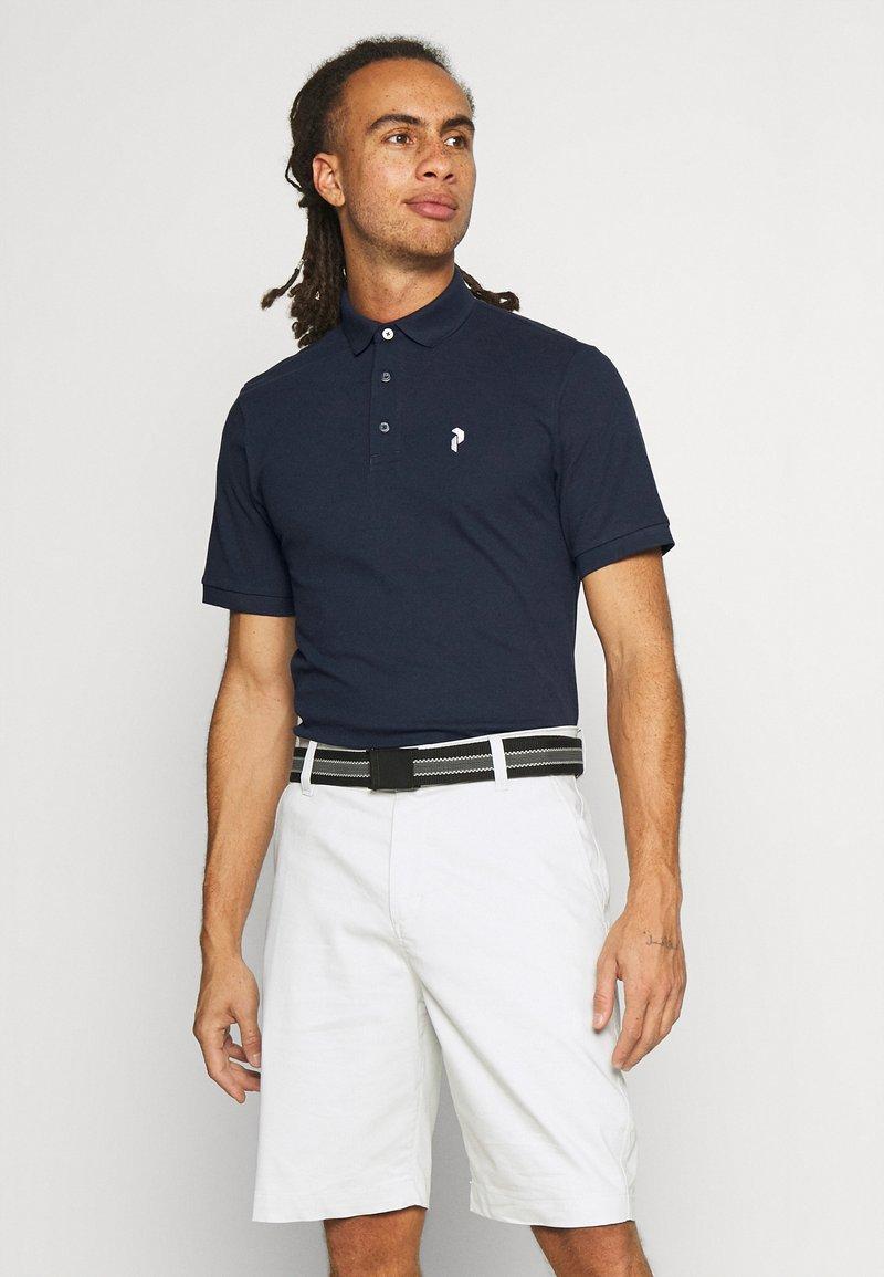 Peak Performance - CLASSIC  - Polo shirt - blue shadow