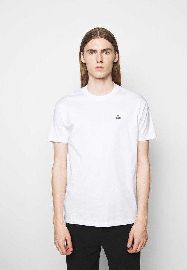 CLASSIC UNISEX - Jednoduché triko - white