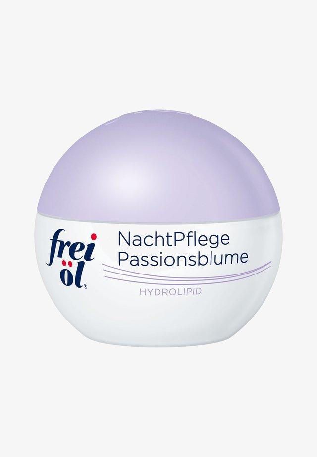 GESICHTSPFLEGE HYDROLIPID NACHTPFLEGE PASSIONSBLUME - Night care - -