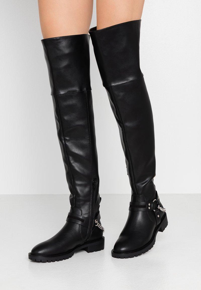 Even&Odd - Høye støvler - black
