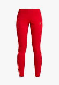 adidas Originals - ADICOLOR 3 STRIPES TIGHTS - Legíny - scarlet - 3