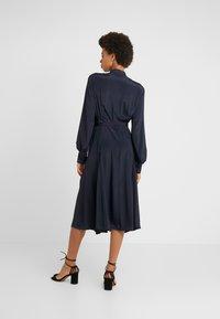 Strenesse - DRESS DEAUVILLE - Shirt dress - navy - 2