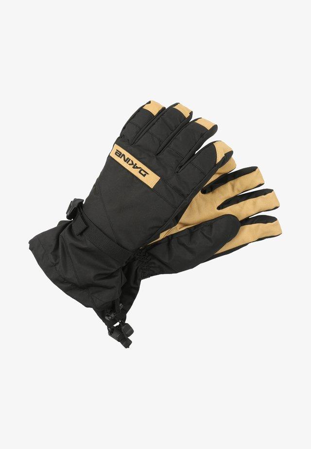 NOVA - Rękawiczki z jednym palcem - black