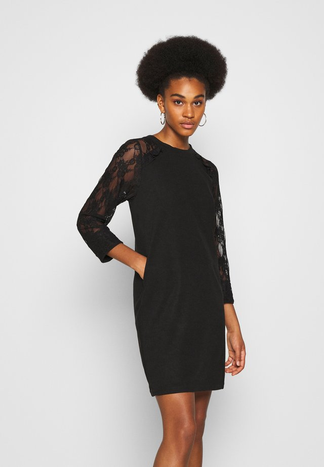 LADIES DRESS - Robe en jersey - black