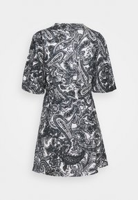 Faithfull the brand - GODIVA WRAP DRESS - Denní šaty - black - 8