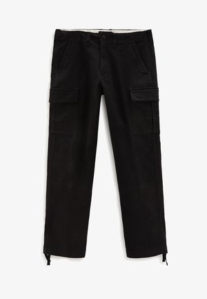 MN SERVICE - Cargo trousers - black
