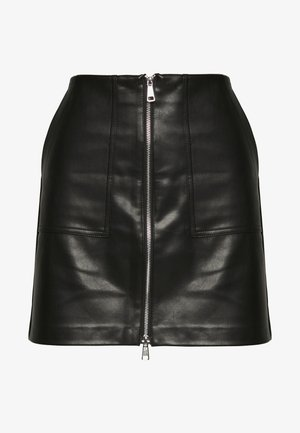 ONLKYLIE MORGAN SKIRT - Minigonna - black