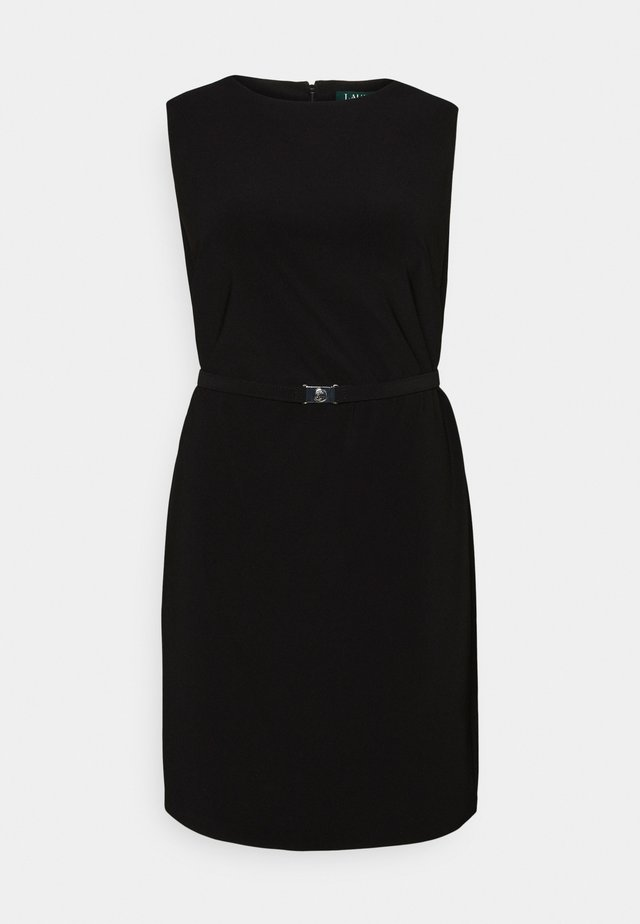 STIELER SLEEVELESS DAY DRESS - Robe en jersey - black