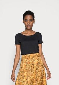 Esprit - CORE  - Basic T-shirt - black - 0