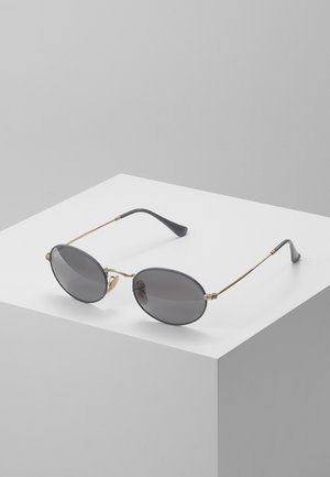 Sunglasses - gold-coloured/matte grey