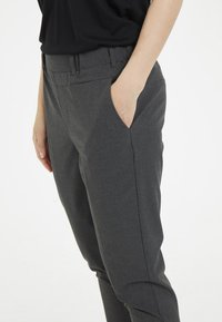 Kaffe - NANCI JILLIAN - Trousers - dark grey - 3
