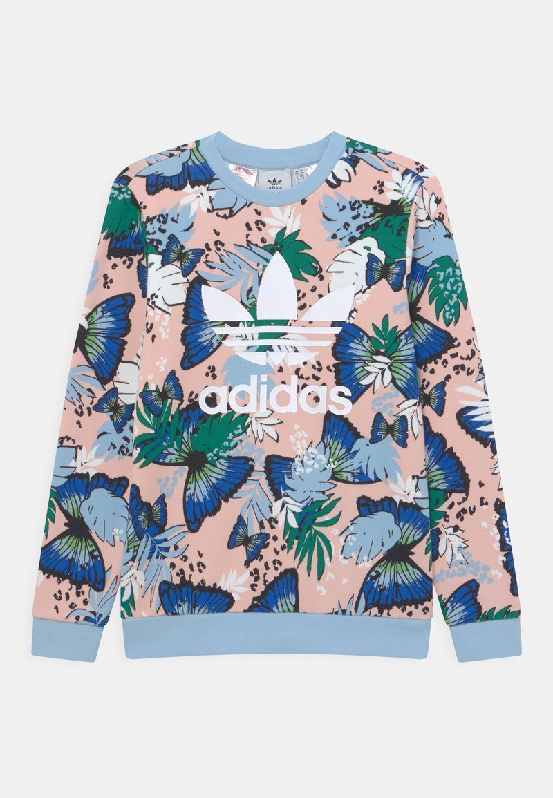 adidas Originals - CREW - Sweatshirt - haze coral/multicolor