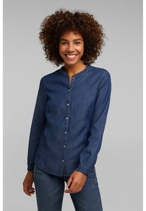 Blouse - blue medium washed