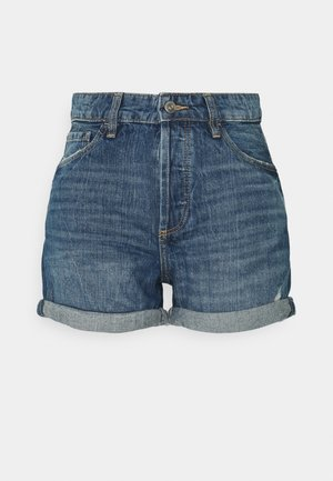 Denim shorts - blue medium wash