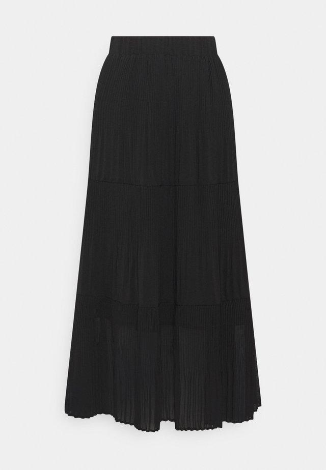RYANNA SKIRT - Jupe trapèze - black