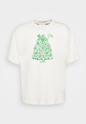 STAN UNITE TEE UNISEX - T-shirt z nadrukiem - off-white