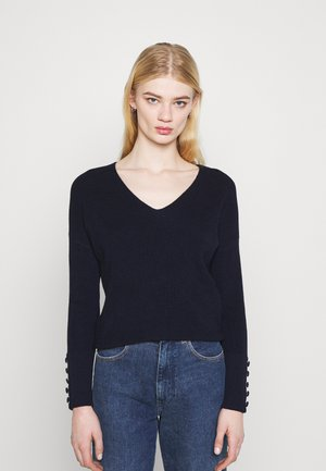 MIEN V-NECK - Jumper - marine