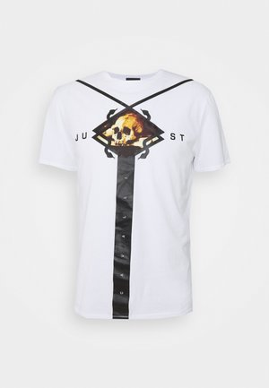 T-shirt imprimé - optical white