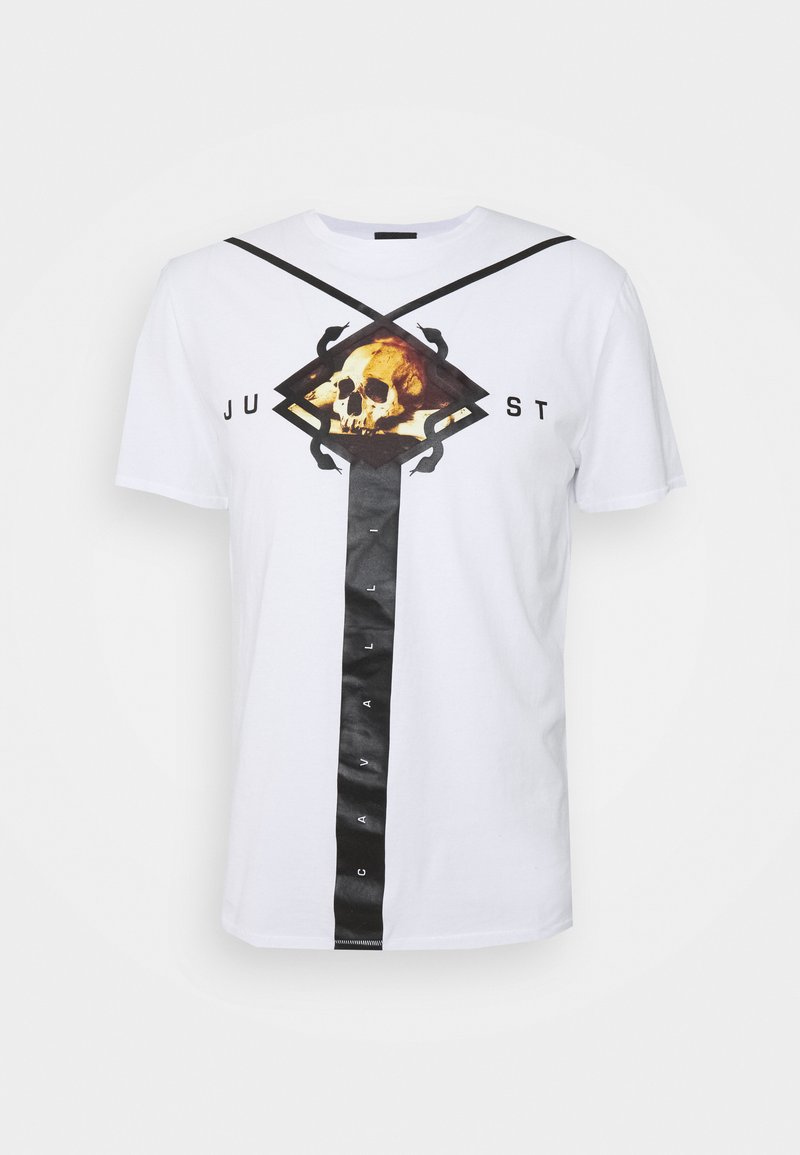 Just Cavalli - Print T-shirt - optical white