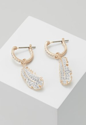 NAUGHTY HOOP DROP  - Pendientes - rosegold-coloured