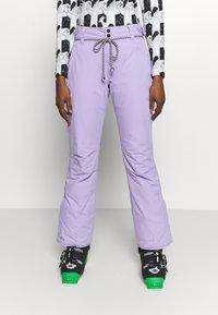 Brunotti - SUNLEAF WOMEN SNOWPANTS - Zimní kalhoty - lavender - 0
